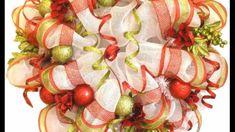 How to Make Deco Mesh Wreaths & Garlands (+playlist)