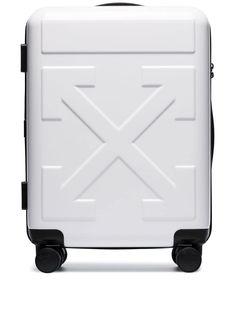 Off-White Tonal Arrow Print Suitcase - Farfetch Herschel Supply Co, Luxury Bags, Luxury Handbags, Off White, Tory Burch, Trolley Case, Womens Designer Bags, Designer Handbags, Arrow Print