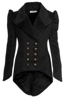 military jacket in #black #style