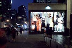 Beat Streuli - Strangers Window Installation NY