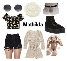 """Mathilda of Leon The Professional"" by modyouth ❤ liked on Polyvore featuring Retrò, Forever 21, Jeffrey Campbell, natalieportman, mathilda, leontheprofessional and LucBesson"