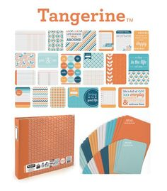 2013 CHA Release - We R Memory Keepers - Albums Made Easy - Tangerine