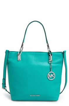 MICHAEL+Michael+Kors+'Medium+Brooke'+Leather+Tote+available+at+#Nordstrom