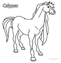 ausmalbilder wendy - ausmalbilder für kinder | malvorlagen pferde, ausmalen, ausmalbilder