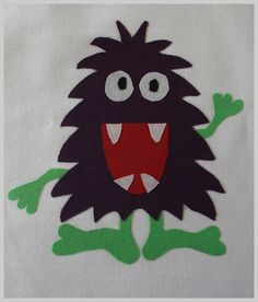 SillyMonster PDF Applique Template by SimplyApplique on Etsy, $1.50