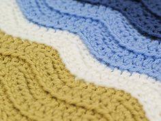 TURTLE BEACH BLANKET / THROW / AFGHAN - FREE PATTERN - Turtlemania! Please join us in the PlanetJune crochet designs