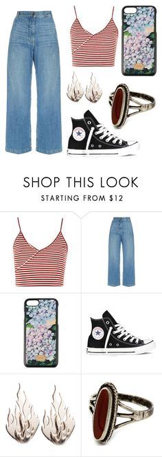 """""""Day off"""" by tamii-2422 on Polyvore featuring moda, Topshop, Rachel Comey, Dolce&Gabbana, Converse y Ring of Fire"""