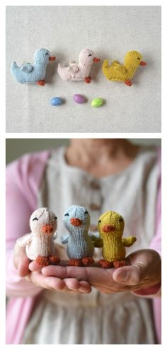 Amigurumi Seamless Duckling Knitting Pattern