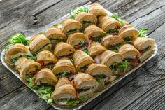 Catering, Sushi, Ethnic Recipes, Food, Food Food, Essen, Yemek, Meals