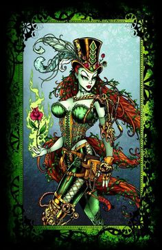 Steam punk poison ivy