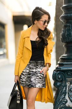 Sunset Prints :: Structured skirt