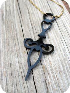 Vintage Inspired Nurses Needle Necklace - $21.99