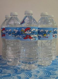 smurf H2O...my kids are obsessed with smurfs.