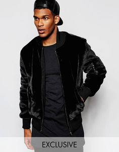 5a895dcb9f8d5 Shop The New County Teddy Bear Bomber Jacket at ASOS.
