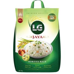 Need a product label for rice bag. LG Rice Mills was established in the year 1981 with an aim to deliver quality rice. A unique business model combined . Rice Packaging, Food Packaging Design, Packaging Design Inspiration, Product Label, Product Branding, Product Packaging, Beer Label Design, Rice Bags, Box Design