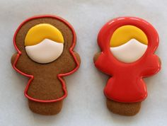 Polar Pals Decorated Cookies