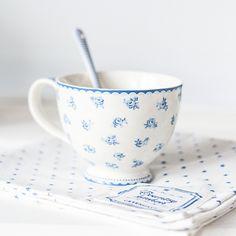 SnapWidget | Эти большие, нежные, синие чашки снова в наличии⛵ цены и заказ на сайте www.danishprincess.ru