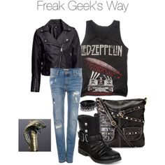 Supernatural Inspired Fashion, Freak Geek's Dean Winchester inspired look
