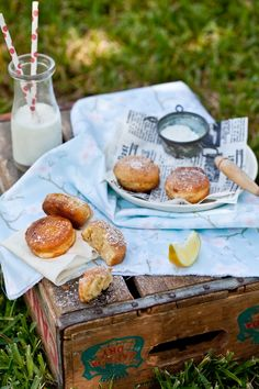Lemon fritters, made, shot, and eaten by Helene Dujardin. #food, #photography, #styling