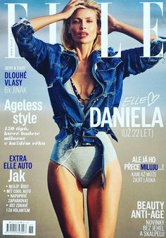 Daniela Pestova - Elle Magazine Cover [Czech Republic] (November 2016)