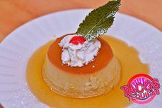 Flan al Caramelo Mexican style of caramel custard