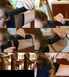 Flat Iron For Fancy Curls