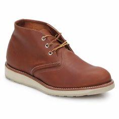Red Wing men's CHUKKA Original boot @spartoouk