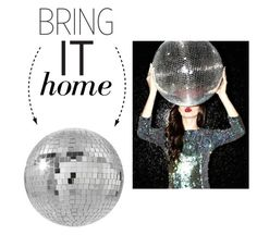 """Bring It Home: Disco Ball"" by polyvore-editorial ❤ liked on Polyvore featuring interior, interiors, interior design, dom, home decor, interior decorating, CB2 i bringithome"