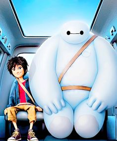 Big Hero 6- Baymax