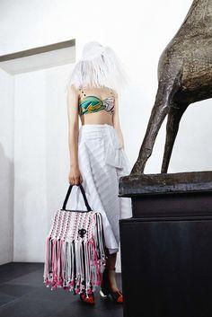 #fashion #runway #NovellaMagazine #trends #style #fringe