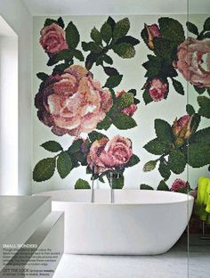 10 Best Patterned Accent Walls | Camille Styles