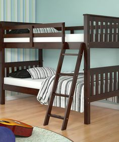 Another great find on #zulily! Dark Cappuccino Mission Bunk Bed by Donco Kids #zulilyfinds