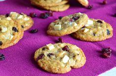 Pasión y Tentación: Cookies de arándanos y chocolate blanco