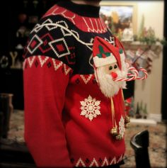 Christmas sweater! @Crystal Perez