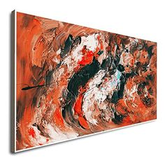 Amazon.com: Home Wall Decor Art Abstract Expressionist Artists Abstract Painting Abstract Print Wall Art Colorful Large Canvases For Painting 48X60 Large Original Art Original Art Oil: Handmade