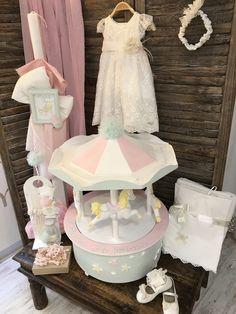 Βαπτιστικό σετ με θέμα carousel #nikolasker #baptism #carousel #christening #greekevents #neaionia #athens #greece #baby #boy #girl #vaftisi #vaptisi #nonos #nona #βάπτιση Christening, Candles, Children, Cake, Ideas, Towels, Toddlers, Boys, Pastel