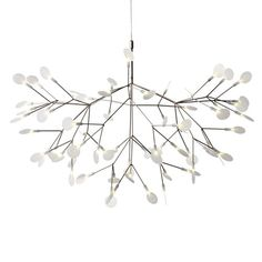 "Heracleum II Pendant Light 38.6""D X 25.6""H; 157.5"" max overall height 3787"