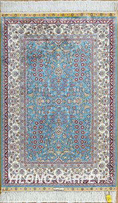 Persian rug Oriental Turkish carpet hand knotted silk rug Tabriz rugs hereke area rugs double knots from 2'x3' to 14'x20'  Color: Blue, Yellow, Pink, Beige, Light and green. Floral, patchwork Pattern.   Flower, Birds, Tree of life, horse, Medallion, four season, Last Supper and hunting design, Muslim and Christian prayer rugs Space: bedroom, living room, dining room and kitchen. Email: alice@yilongcarpet.com WhatsApp: +86 15638927921 www.yilongcarpet.com