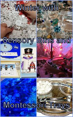 Winter Sensory Bins and Montessori Trays from The Weekly Kids Co-Op. Winter Montessori Activities and Early Learning Play. Winter science for toddlers and preschoolers - there is so much to learn! And of course, the best way is learning through play and hands-on discoveries. That's when The Weekly Kids Co-Op comes very handy. We are featuring the brightest ideas for winter play inspiration. They all could make any kids happy while learning!