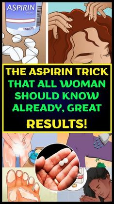 Aspirin is one of the most well-known painkillers that we use nowadays. people use it to cure headaches, toothaches etc. But some people do not know that aspirin has other uses and benefits to our hom Remove Sweat Stains, Signs Of Arthritis, Different Types Of Arthritis, Natural Home Remedies, Natural Healing, Natural Skin, Natural Foods, Holistic Healing, Natural Beauty