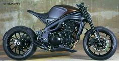 Custom Buell motorcycle