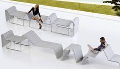 DAKIT DESIGN 2010 Estrax _ Mobiliario urbano modular