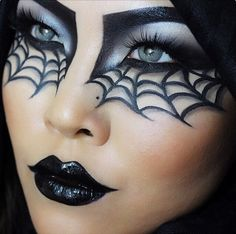 Make-up tips for Carnival: Here come the most creative looks - Halloween Make up, Schminke und Kostüme - Makeup Halloween Eye Makeup, Halloween Eyes, Halloween Makeup Looks, Halloween Nails, Halloween Costumes, Halloween Party, Halloween Decorations, Halloween Quotes, Halloween 2017