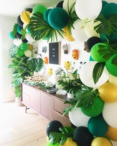 "1,133 Likes, 47 Comments - Wild Child (@wildchildparty) on Instagram: ""Let's get WILD!!!! Balloons by us ... cutest set up by @beijosevents"""