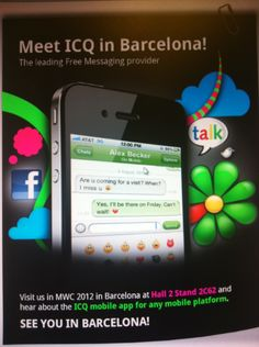 ICQ in Barcelona!