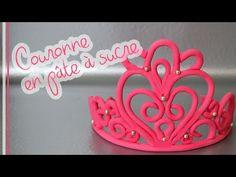 How To Make Princess Tiara from Gumpaste - YouTube