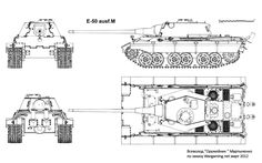 The E-50 Ausf.M was better, bigger, and had a more accurate and stronger weapon.