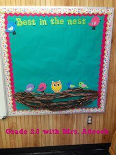 Best in the nest bragging board