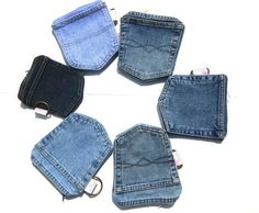 Denim pockets recycled into Wallets – Livbit