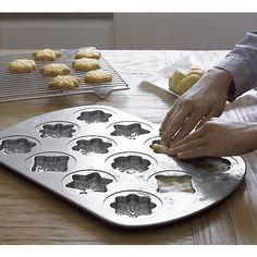 Snowflake Cookie Pan | Crate and Barrel